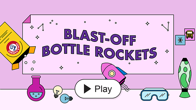 Blast-Off Bottle Rockets
