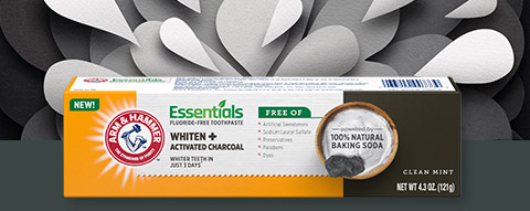 Whiten plus Activated Charcoal toothpaste