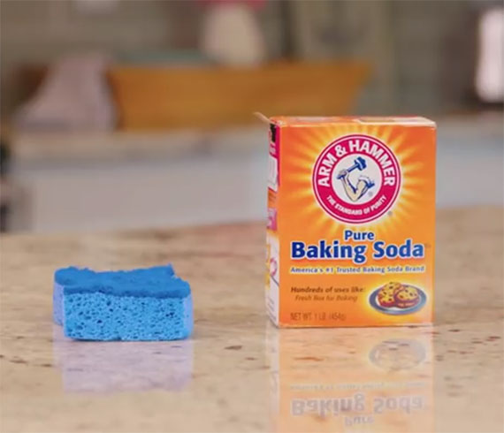 Refresh A Smelly Sponge