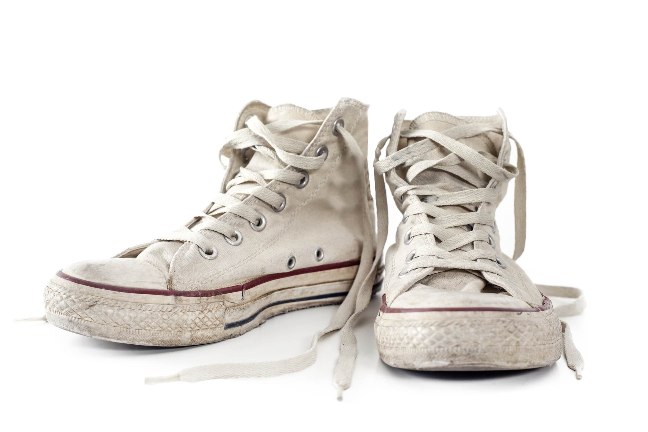 to Clean White Shoes with Baking Soda