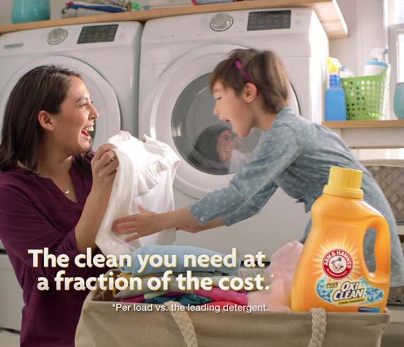 ARM & HAMMER™ Plus OxiClean™: Life's Cycles