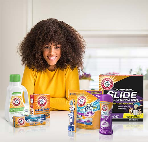 Connect with Arm & Hammer