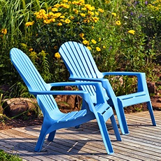 How to clean your patio furniture with baking soda.