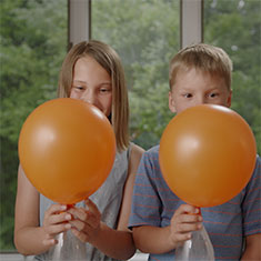 How to inflate a balloon with baking soda.