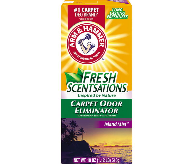 Fresh Scentsations™ Carpet Odor Eliminator, Island Mist