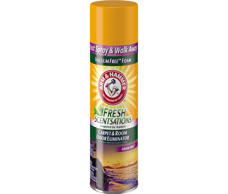 Fresh Scentsations™ Carpet Odor Eliminator, Island Mist - Foam