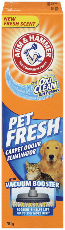 Éliminateur d'odeurs de tapis OxiClean<sup>MC</sup> Dirt Fighters, Pet fresh