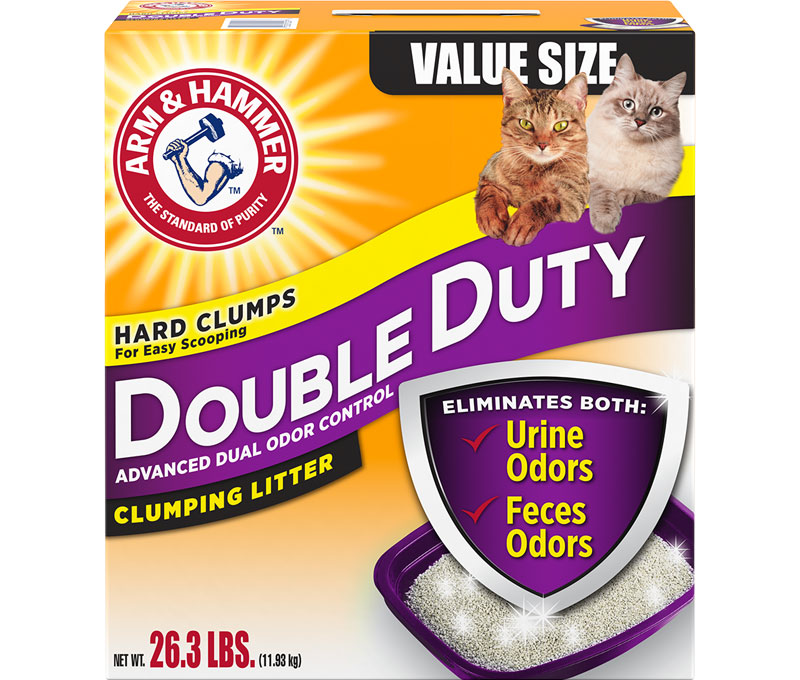 ARM & HAMMER™ Double Duty Clumping Cat Litter