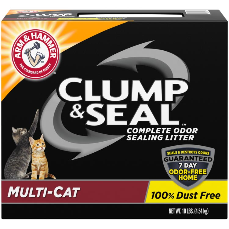 Clump & Seal™, Complete Odor Sealing Clumping Litter, Multi-Cat