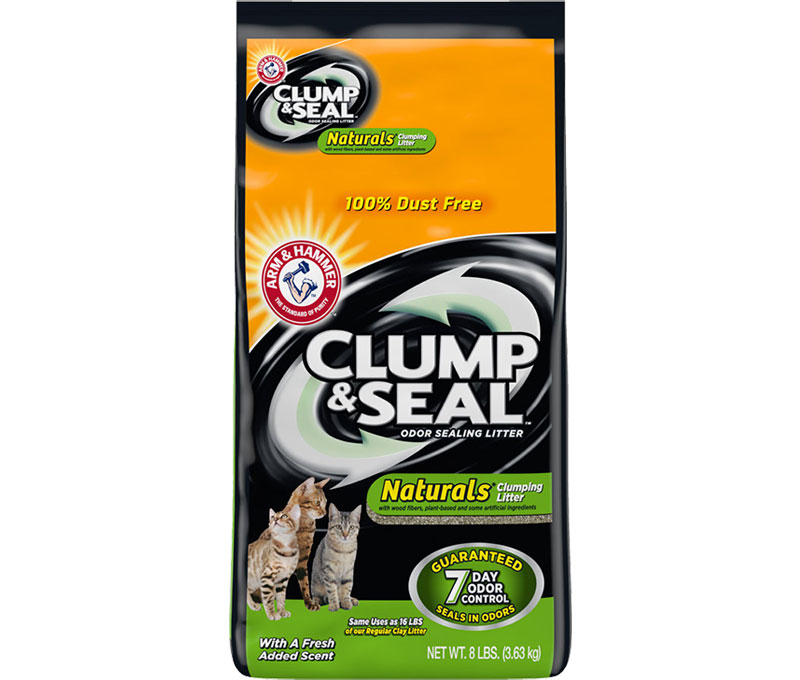 Clump & Seal™, Naturals* Clumping Cat Litter