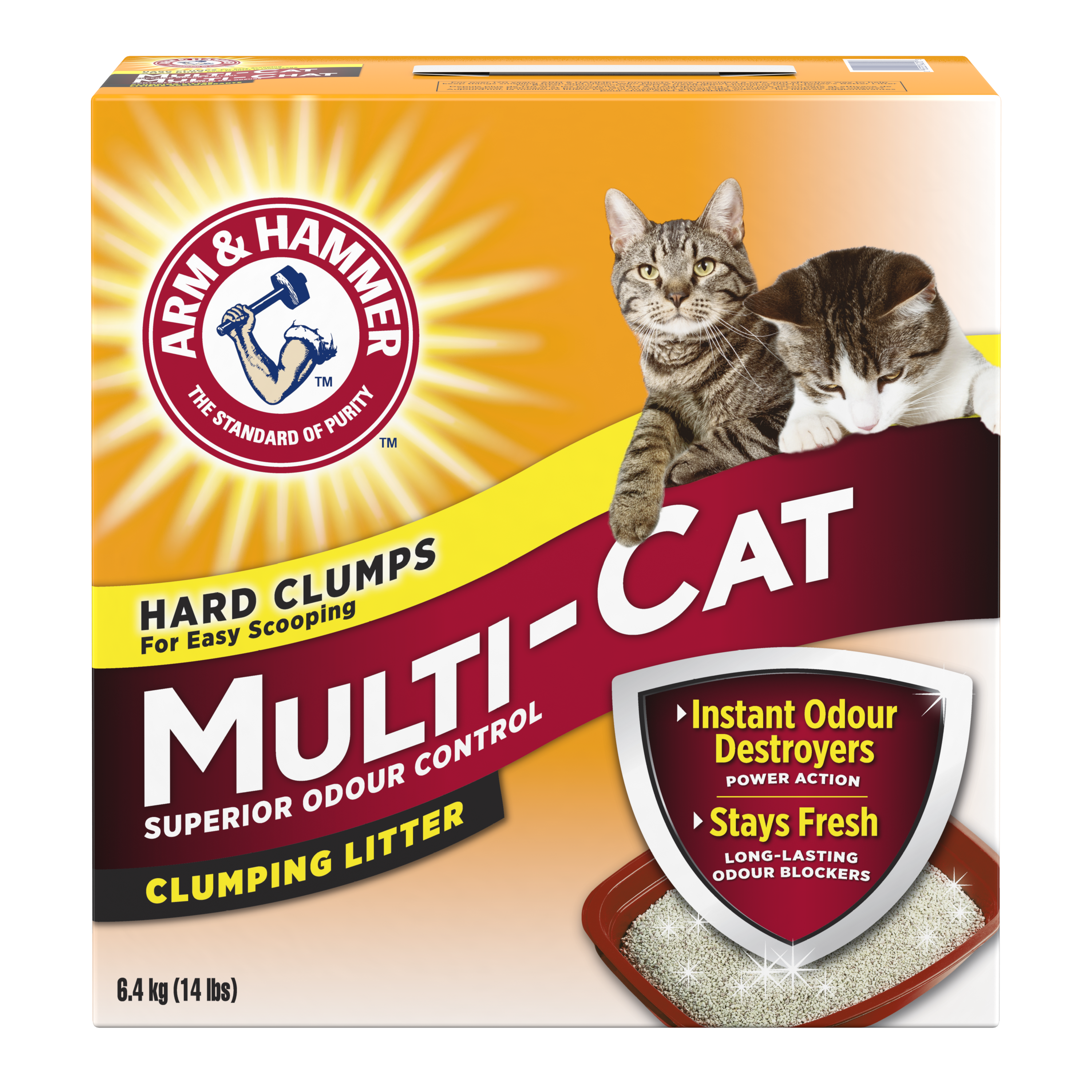 Multi-Cat Strength Clumping Litter, Original