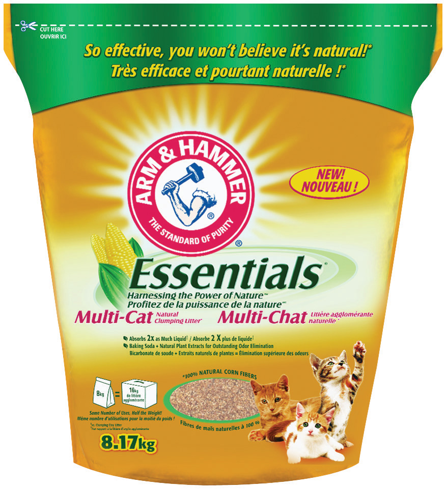 Essentials* Clumping Cat Litter
