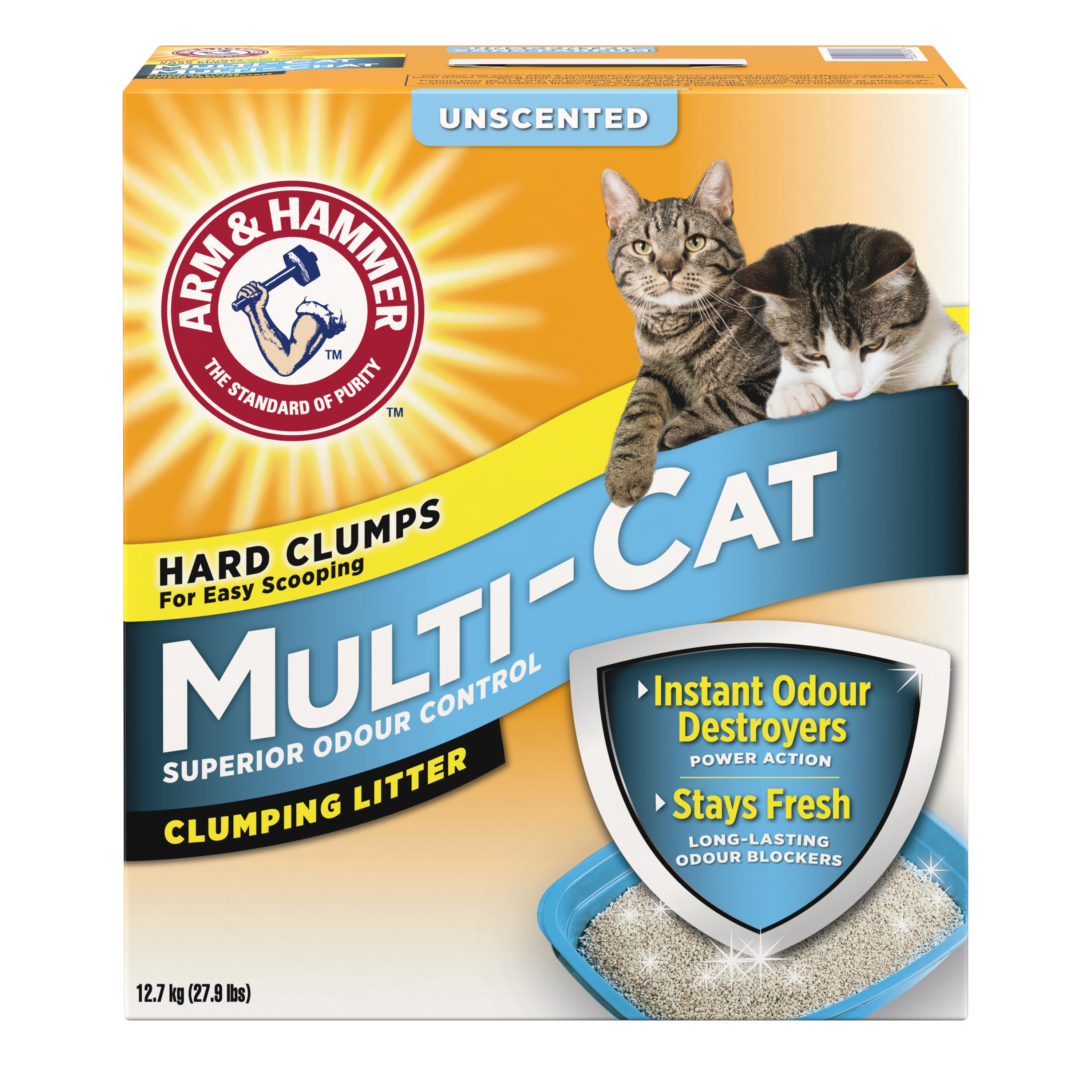 Multi-Cat Strength Clumping Litter, Unscented