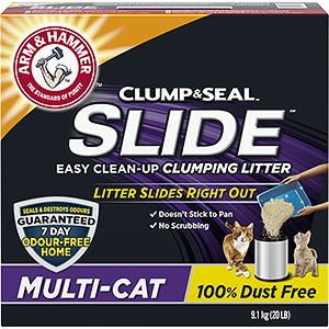 SLIDE™ Easy Clean-Up Clumping Litter, Multi-Cat