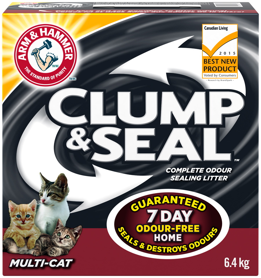 Clump & Seal™, Complete Odour Sealing Clumping Litter, Multi-Cat
