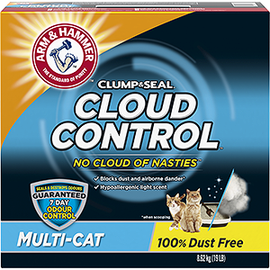 ARM & HAMMER™ Cloud Control™ Breathe Easy Clumping Litter, Multi-Cat