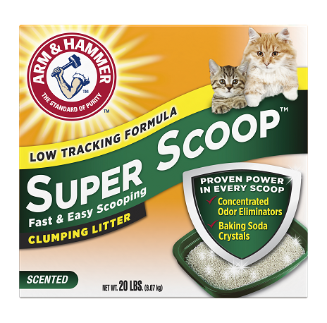ARM & HAMMER™ Super Scoop™ Clumping Litter, Fresh Scent