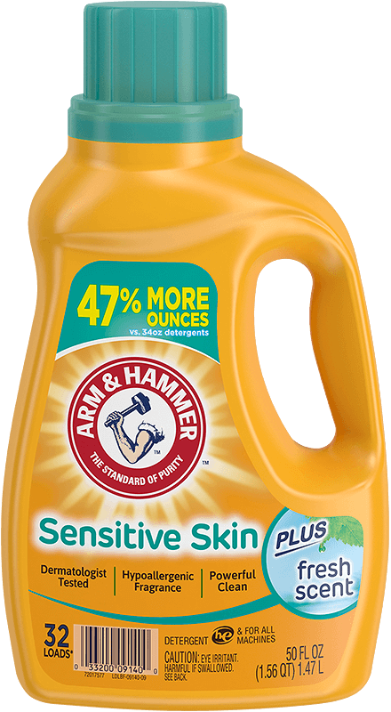 Sensitive Skin plus Hypoallergenic Fresh Scent