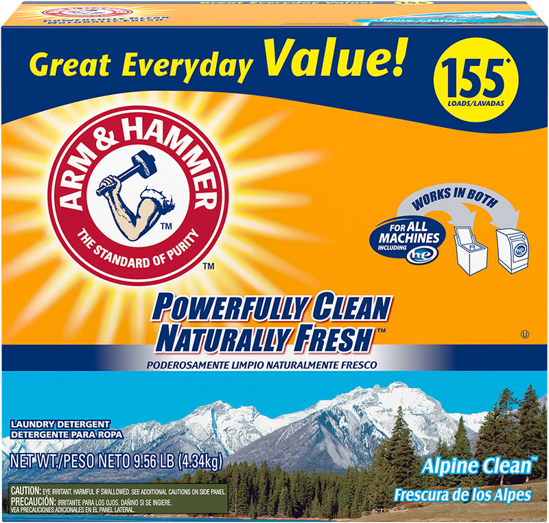 Powder Laundry Detergent, Alpine Clean