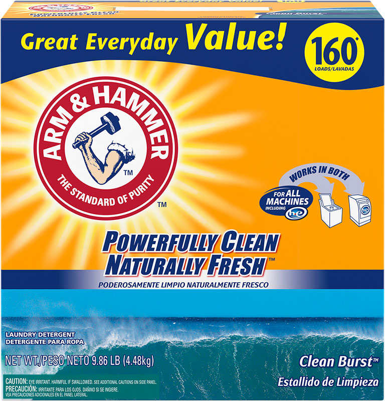 Powder Laundry Detergent, Clean Burst