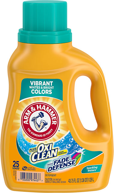 Plus OxiClean™ with Fade Defense ™,  Sparkling Waters