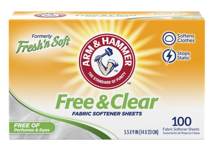 Fresh 'n Soft Fabric Softener Sheets, Free