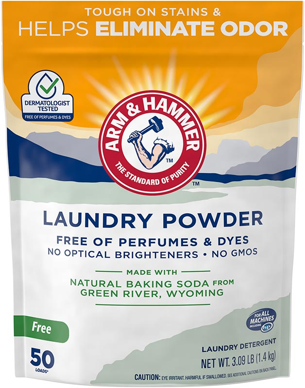 Laundry Powder, Perfume & Dye Free