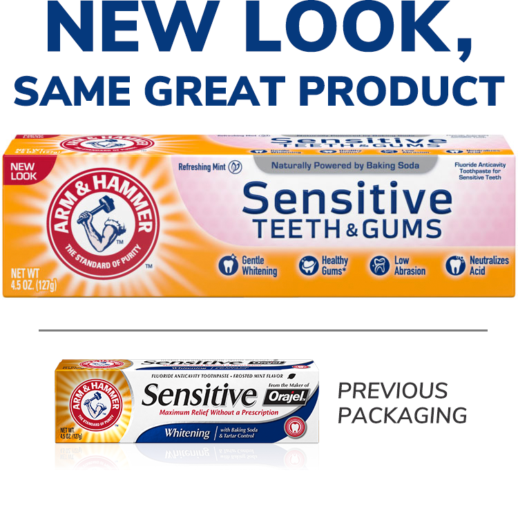 Sensitive Teeth & Gums™ Pasta dental