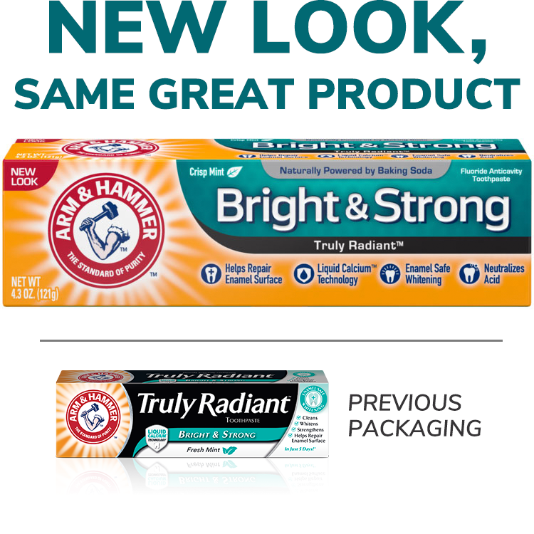 Bright & Strong Truly Radiant™ Pasta dental
