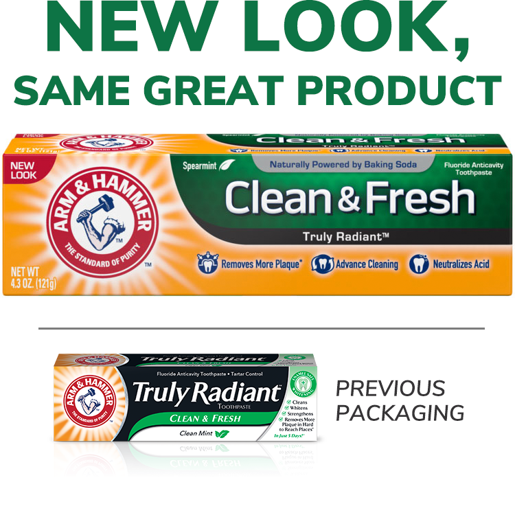 Clean & Fresh Truly Radiant™ Pasta dental