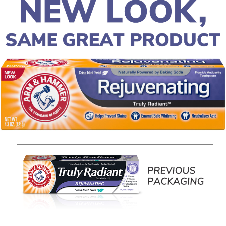 Rejuvenating Truly Radiant™ Toothpaste
