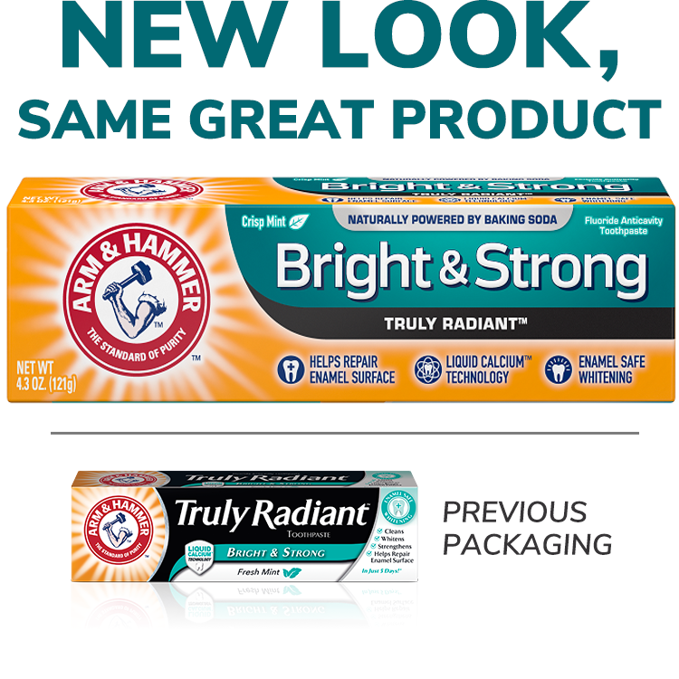 Bright & Strong Truly Radiant™ Toothpaste