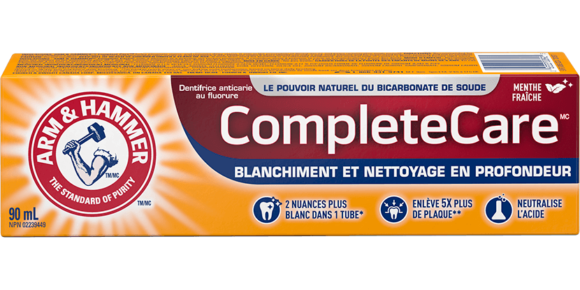 Dentifrice Soins complets<sup>MC</sup>