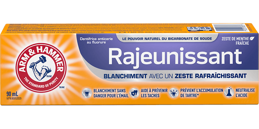 Dentifrice redynamisant