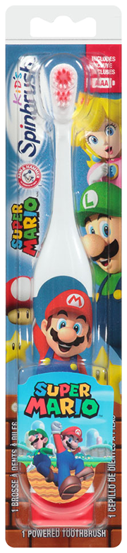 Spinbrush<sup>MC</sup> Super Mario et Princess Peach<sup>MC</sup>