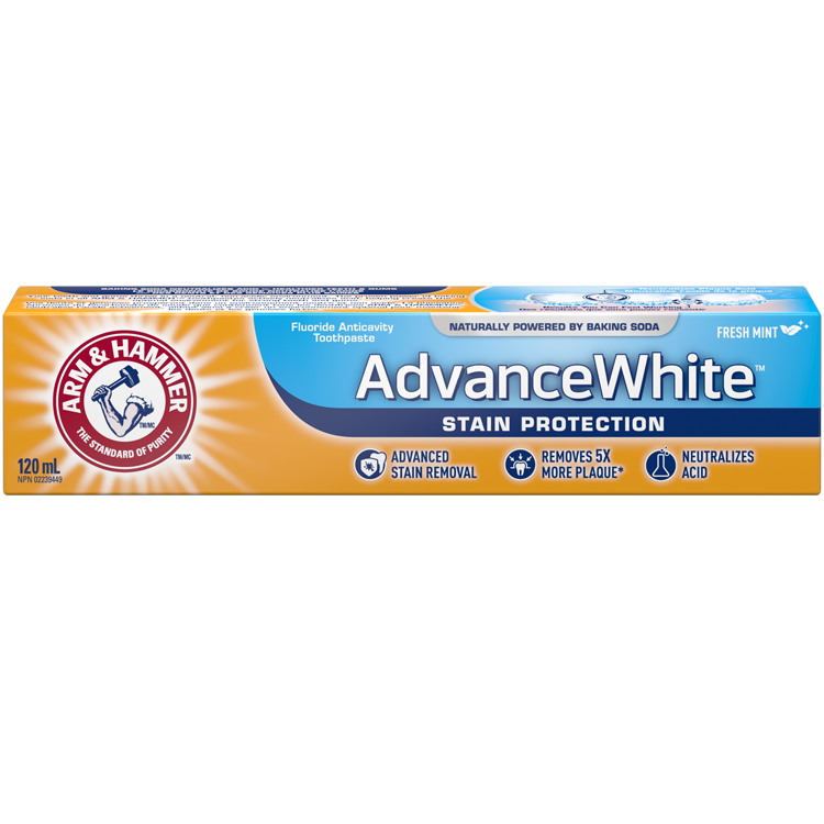 Dentifrice Advance White Protection contre les taches