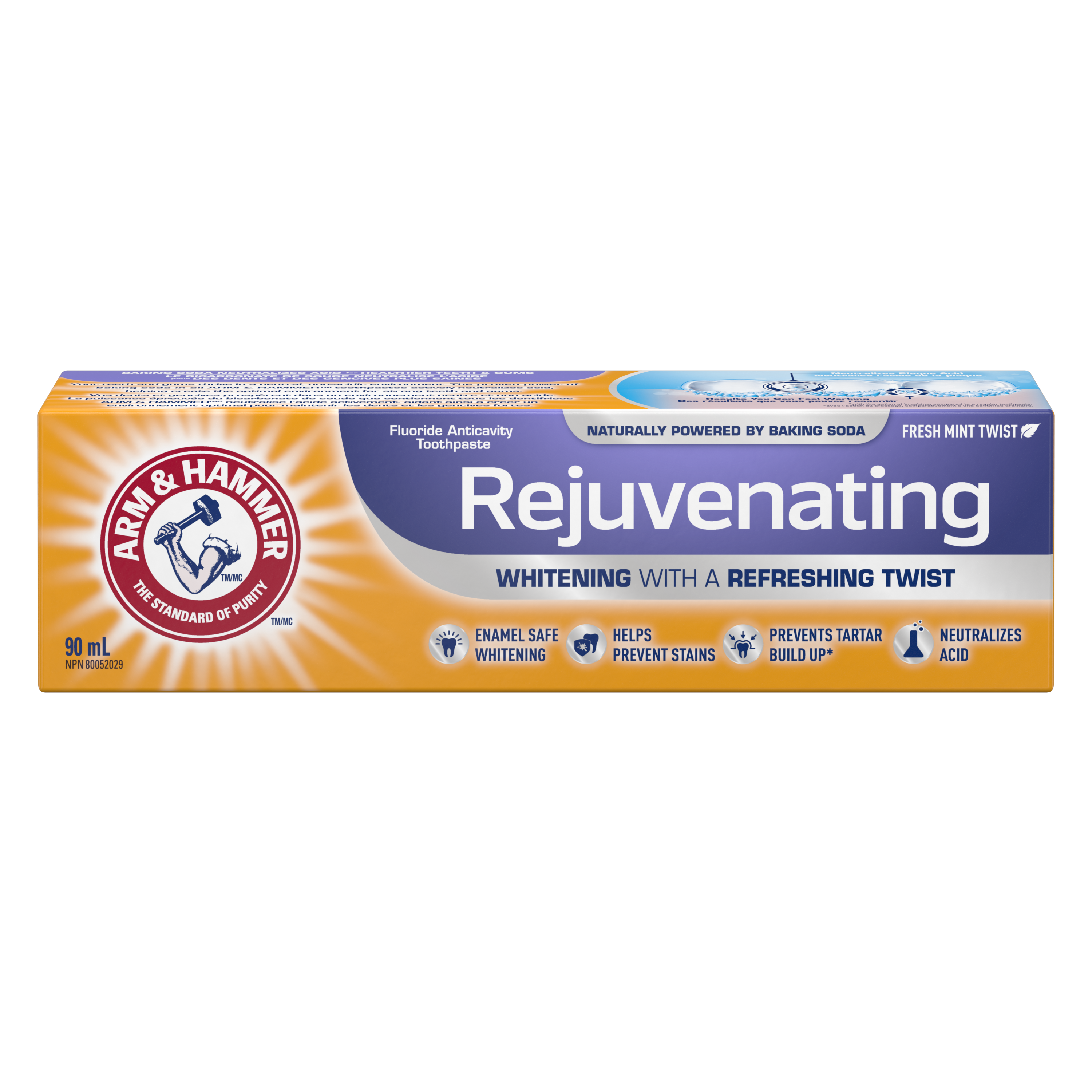 Rejuvenating Toothpaste