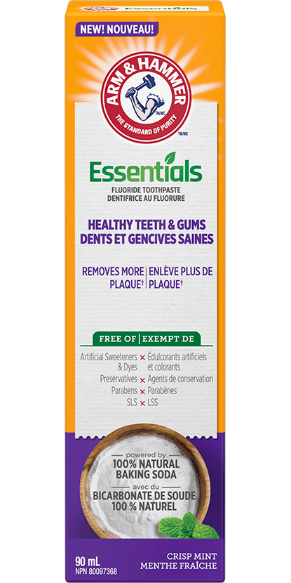 Essentials Healthy Teeth & Gums Fluoride Toothpaste