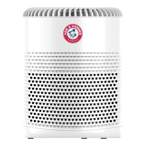 AH510W Compact Table Top Air Purifier With ALLERGEN DEFENSE™ 3-IN-1 360° Surround True HEPA Triune Filtration System