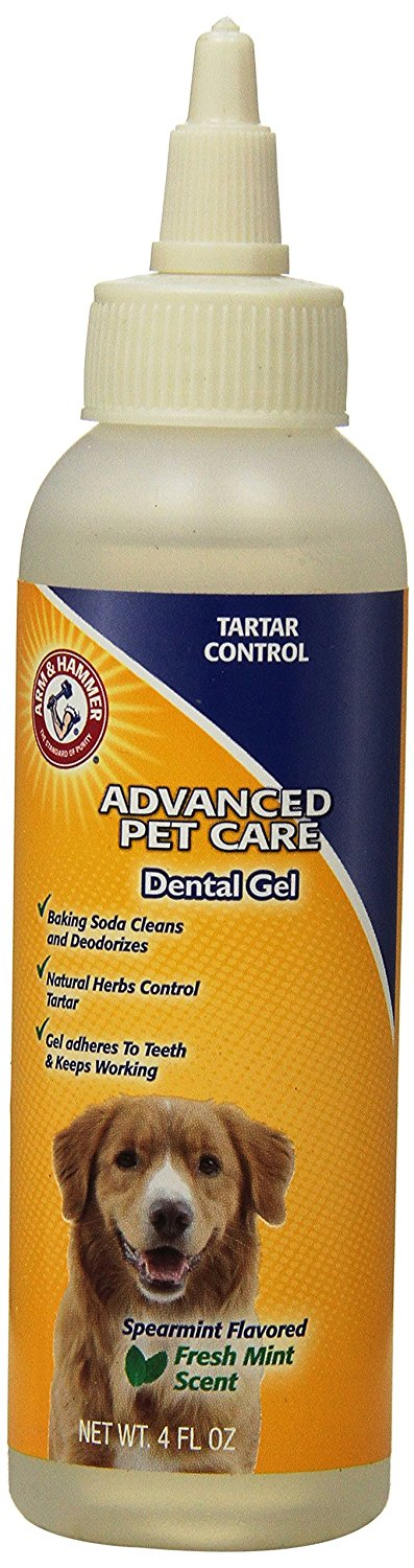Advanced Care Tartar Control Dental Gel for Dogs, Mint Flavor