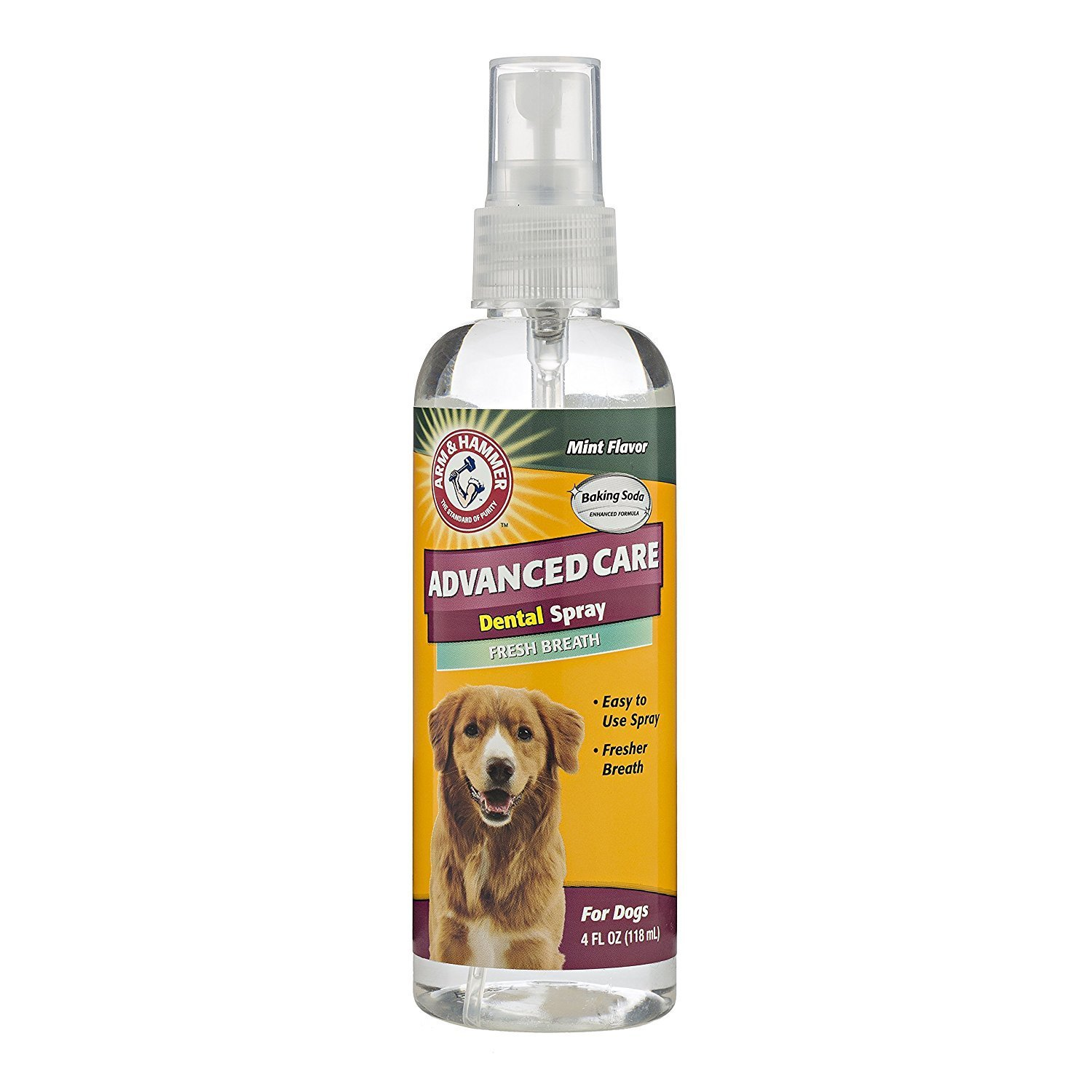 Advanced Care Tartar Control Dental Spray for Dogs, Mint Flavor