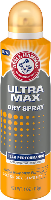ULTRAMAX™ Dry Spray Deodorant, Peak Performance