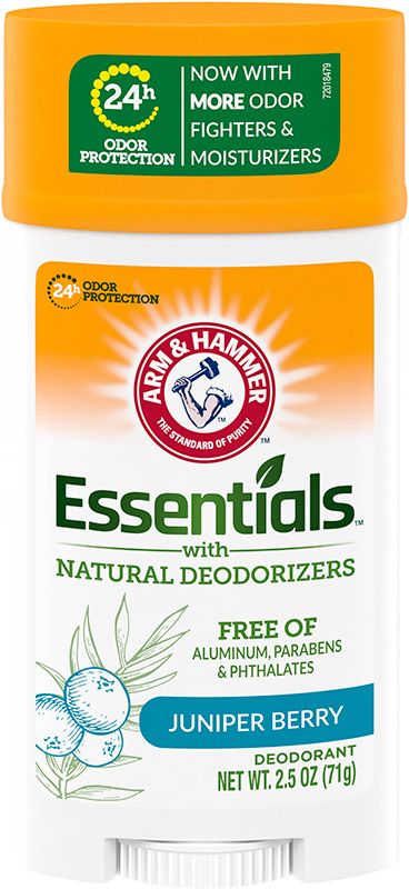 Essentials™ Solid Deodorant, Clean