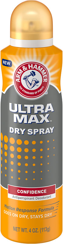 ULTRAMAX™ Dry Spray Deodorant, Confidence