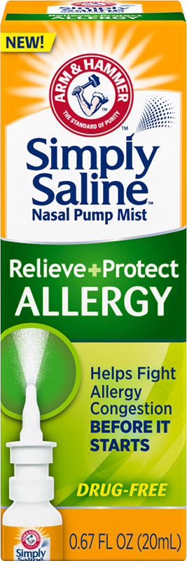 Simply Saline™  Relieve + Protect Nasal Mist - Allergy