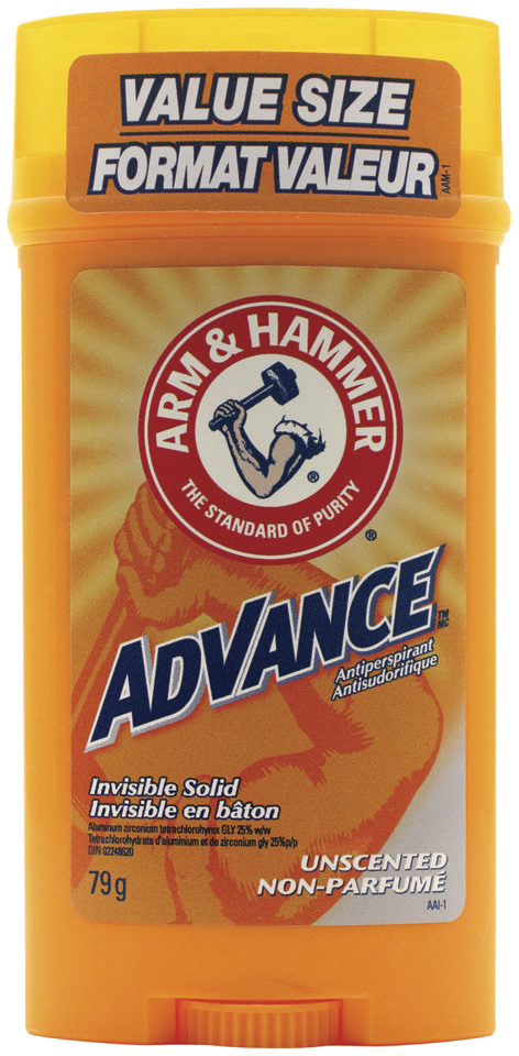Advance™ Invisible Solid Unscented