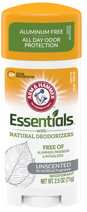 Essentials™ Solid Deodorant, Unscented