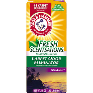 Arm Hammer Carpet Deodorizers
